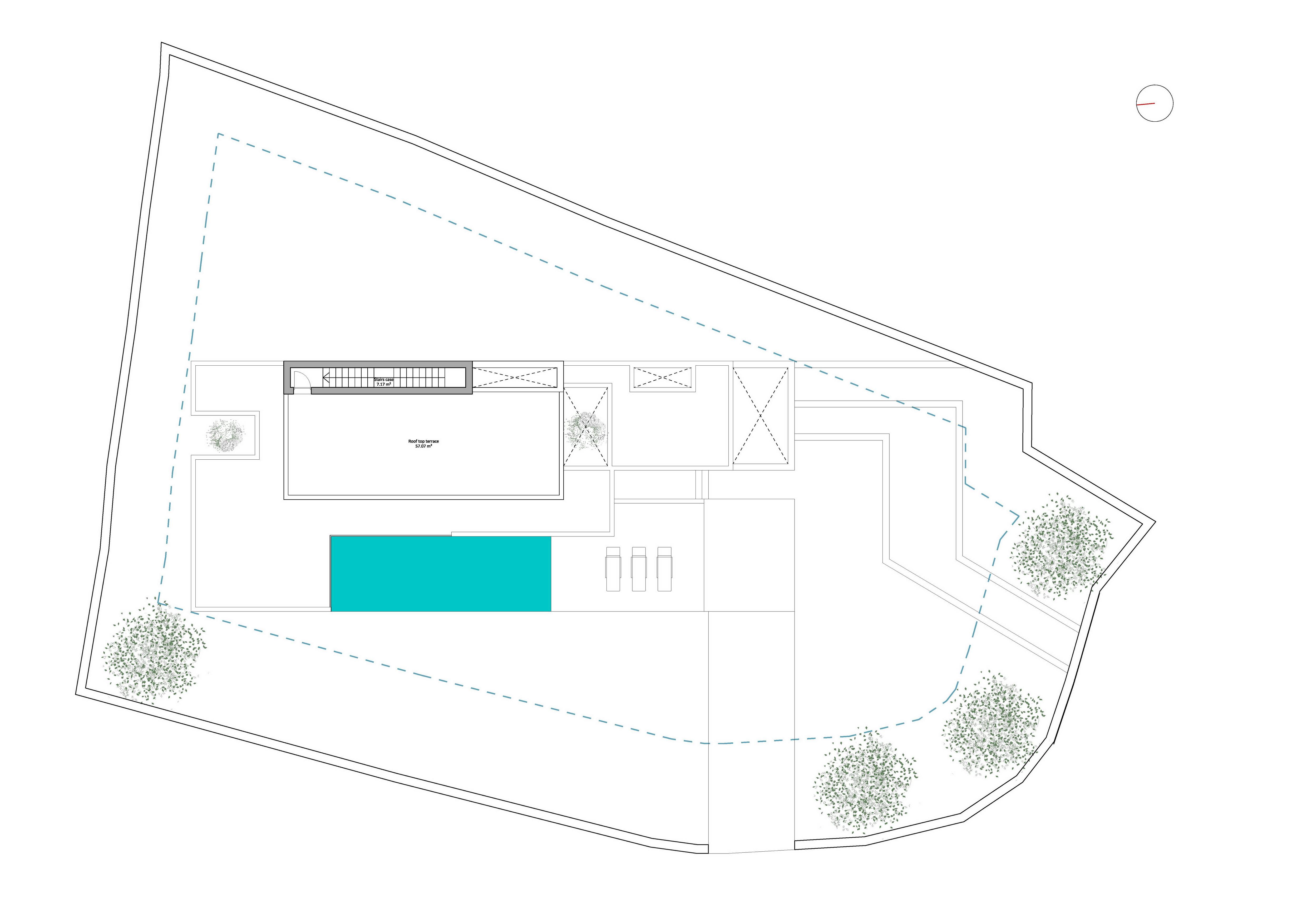 Plans EA 1906 03 Distribución p cubierta