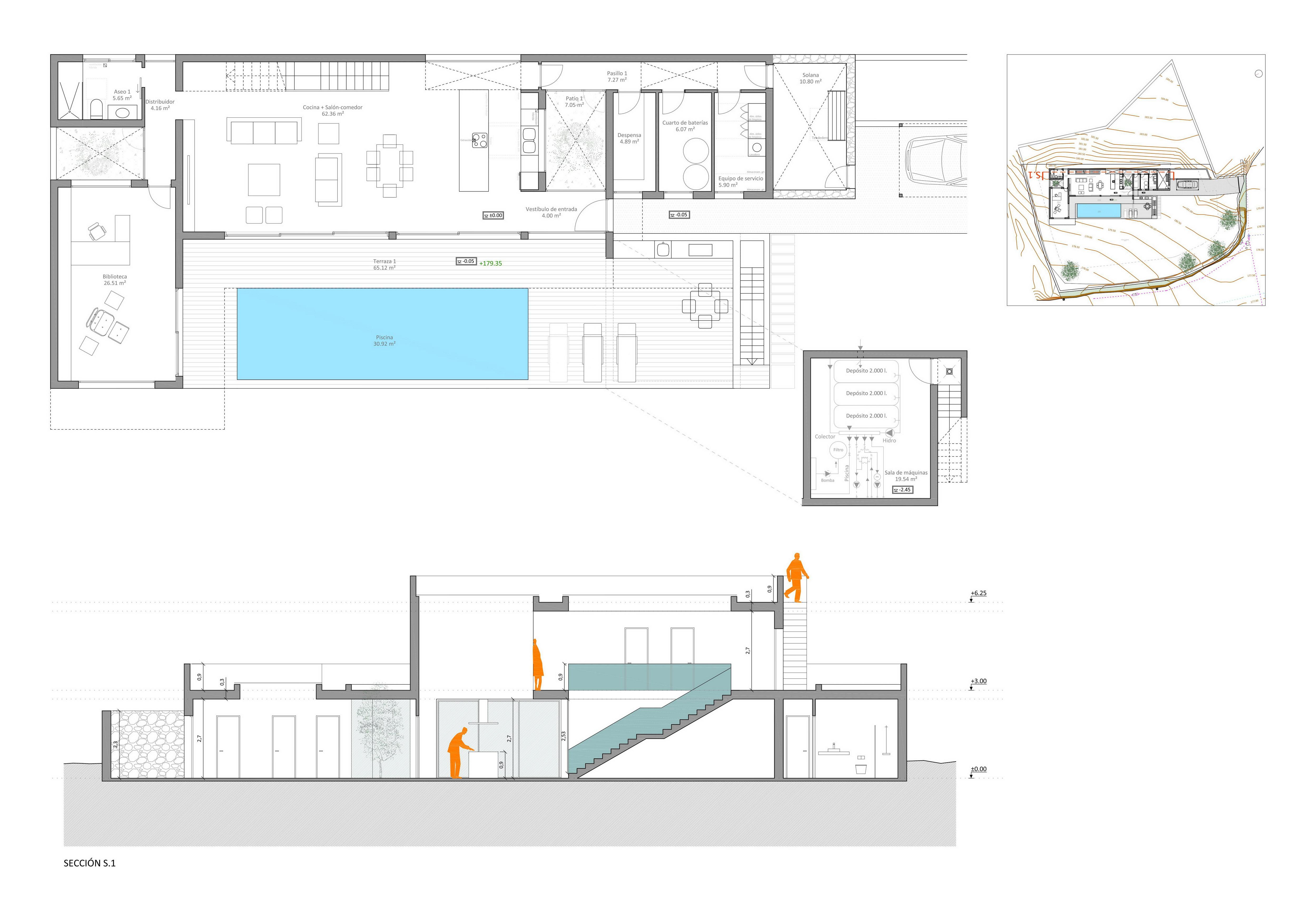 Plans EA 1910 2 Distribución p baja Sección S1